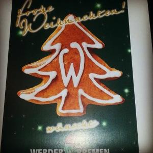Werder Weihnachtsfeier 2014
