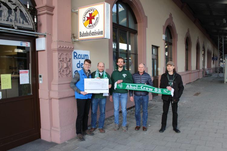 Ahoi-Crew unterstützt Osnabrücker Bahnhofsmission