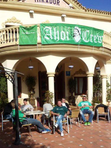Ahoi-Crew besucht Werder im spanischen Trainingslager
