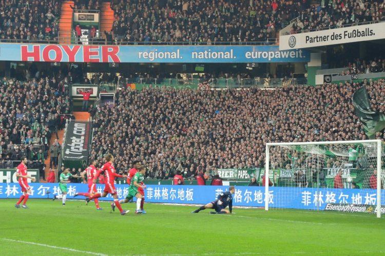 Knappe Niederlage gegen die Bayern: Werder zeigt Kämpferherz