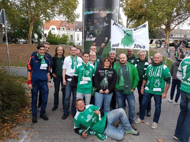 Heimspiel gegen Wolfsburg: Geflüchtete folgten Fanclub-Einladung