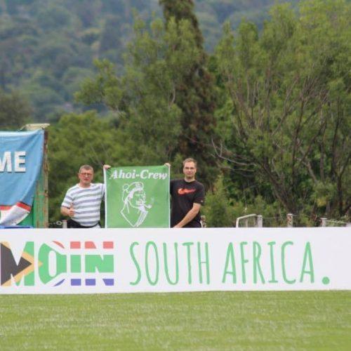 Bis ans Ende der Welt: Ahoi-Crew im Trainingslager in Südafrika dabei