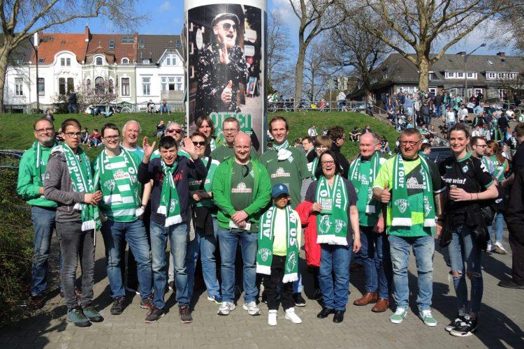 Ahoi-Crew und FED gemeinsam im Weserstadion