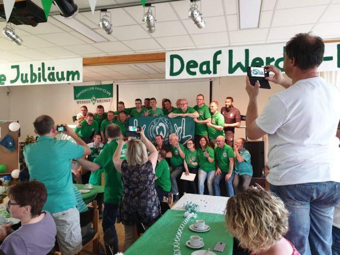 Zehn Jahre DEAF Werder-Fanclub
