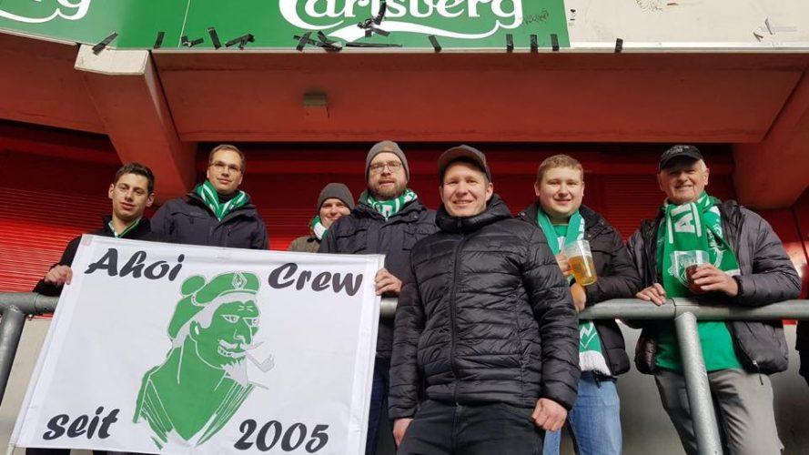 Altstadt-Tour nach Auswärtssieg in Düsseldorf